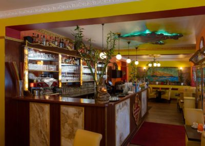 Innenansicht Restaurant Amma Kirchhainer Damm