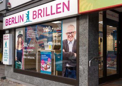 Ladenansicht Berlin Brillen Bahnhofstraße