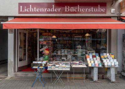 Ladensicht Lichtenrader Bücherstube