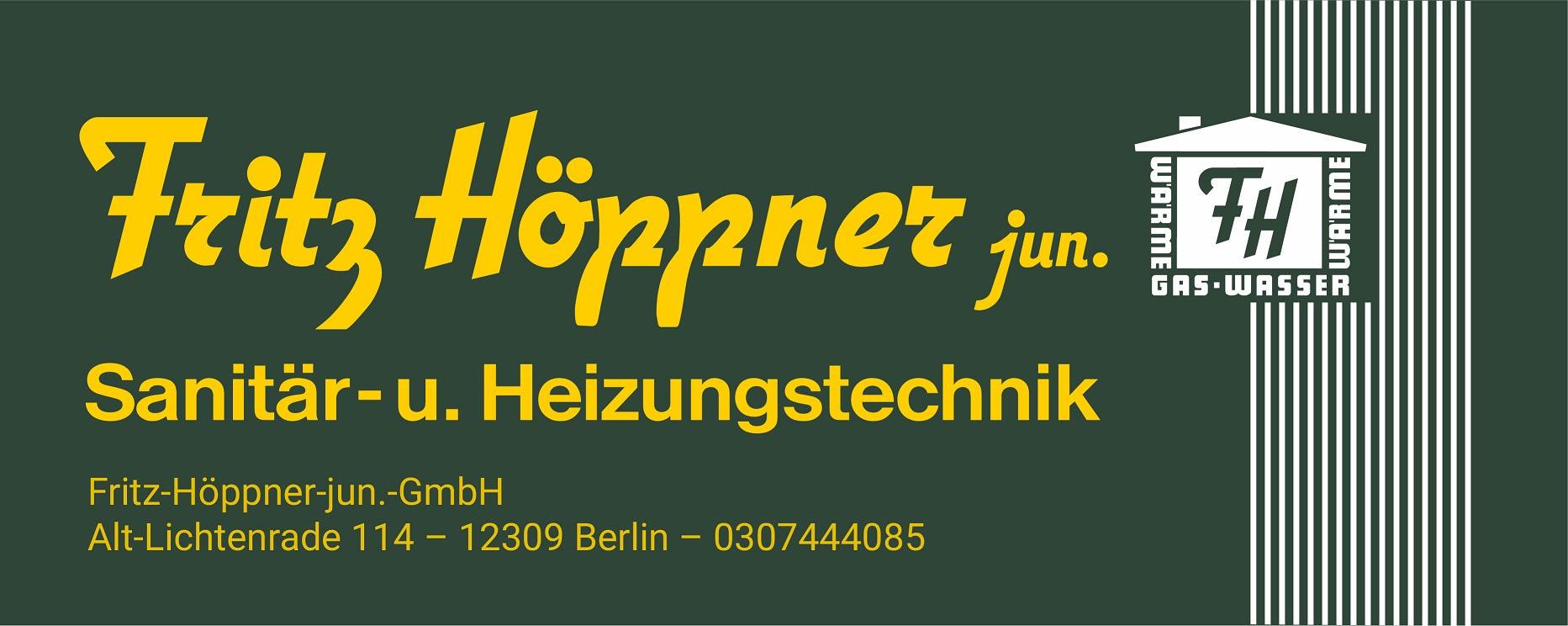 Logo Fritz Höppner jun.