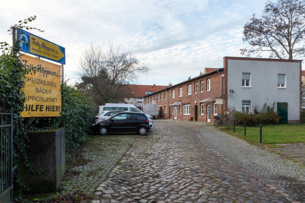 Firmengelände Fritz Höppner jun.