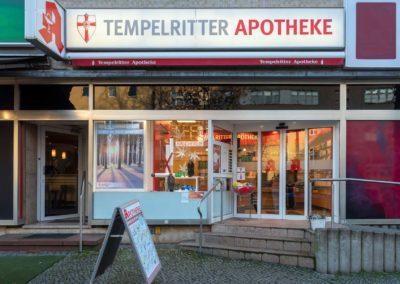 Ladenansicht Tempelritter Apotheke
