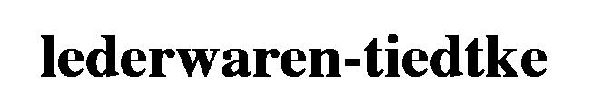 Logo Lederwaren-Tiedtke