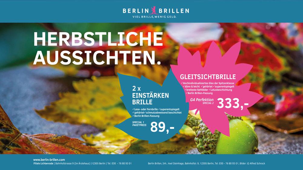 Angebot Berlin Brillen Oktober 2021