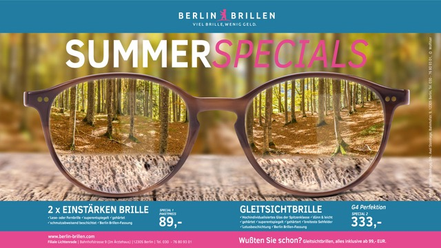 Angebot Berlin Brillen September 2021
